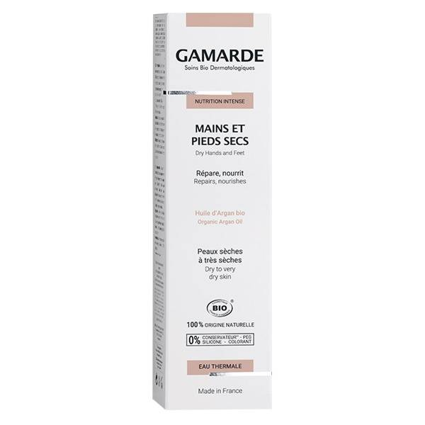Gamarde Nutrition Intense Mains et Pieds Secs Bio 100g