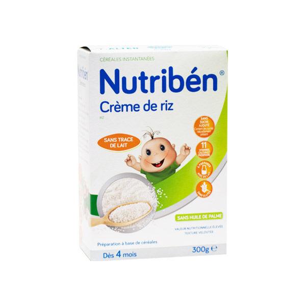 Nutriben Nutribén Crème de Riz +4m 300g