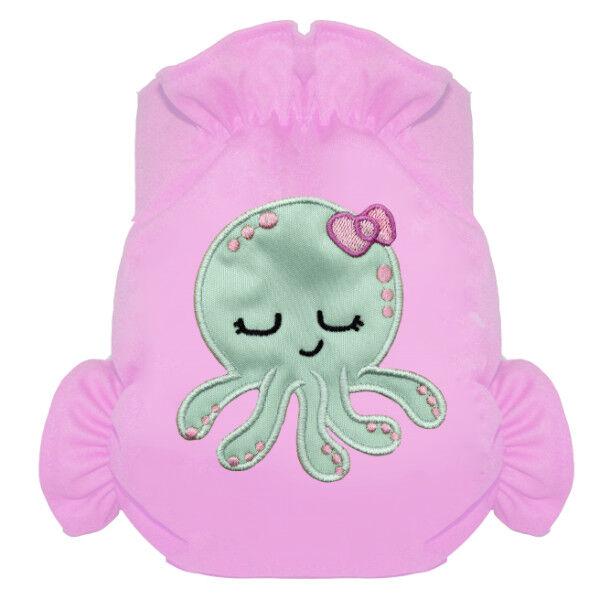 Eliott et Loup Maillot de Bain Couche Octopus 0-3ans +