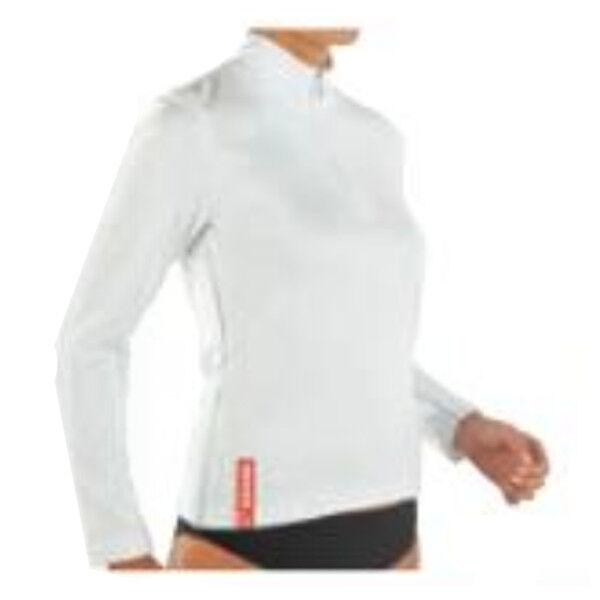 Gibaud Sous Vêtement Technical Wear Tee Shirt Femme Manches Longues Taille L Blanc