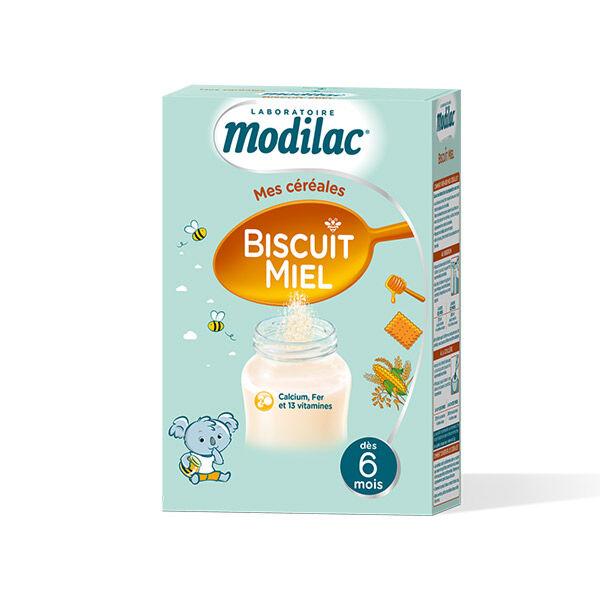 Modilac Biscuit Miel Céréales dès 6 mois 300g