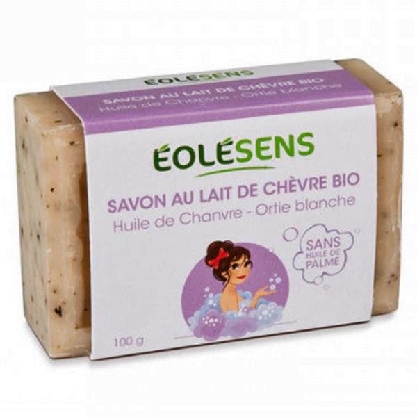 Eolésens Savon au Lait de Chèvre Bio 100g