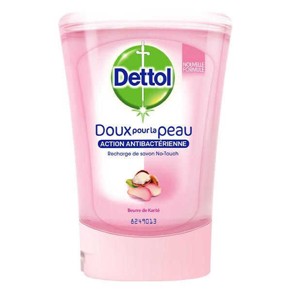 Dettol No-Touch Recharge Savon Gel Lavant Mains Beurre de Karité 250ml