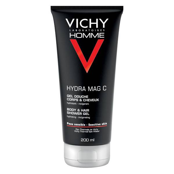 Vichy Homme Gel Douche Corps & Cheveux Hydra Mag C 200ml