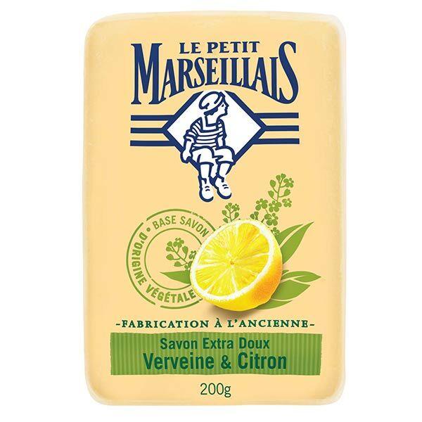 Le Petit Marseillais Savon Verveine et Citron 200g