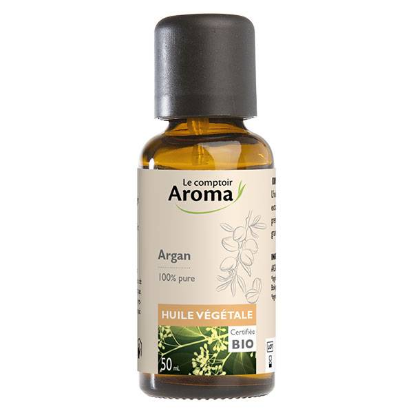 Le Comptoir Aroma Huile Végétale Argan Bio 50ml