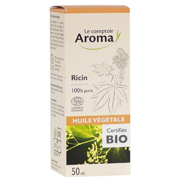 Le Comptoir Aroma Huile Végétale Ricin Bio 50ml