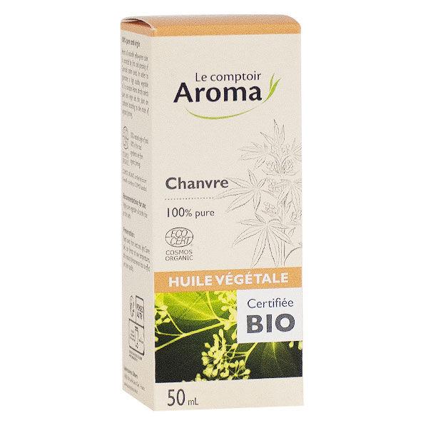 Le Comptoir Aroma Huile Végétale Chanvre Bio 50ml