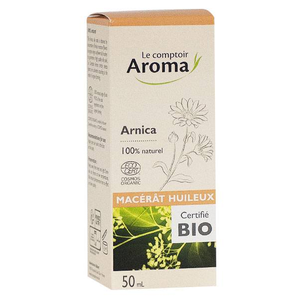 Le Comptoir Aroma Macérat Huileux Arnica Bio 50ml
