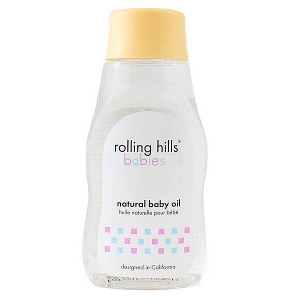 Rolling Hills Babies Huile Naturelle Bébé 200ml