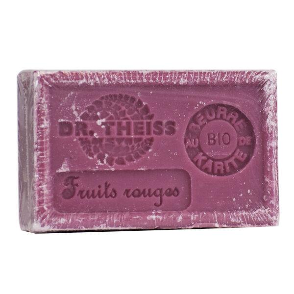 Dr Theiss Savon de Marseille Fruits Rouges + Beurre de Karité 125g