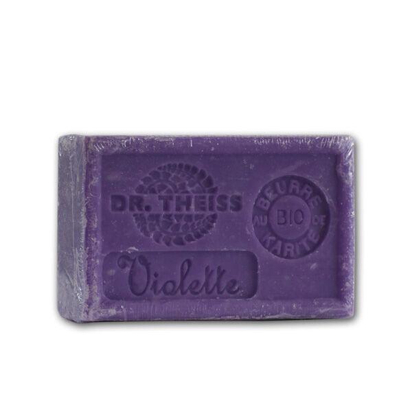 Dr Theiss Savon de Marseille-Violette + Beurre de Karité Bio 125g