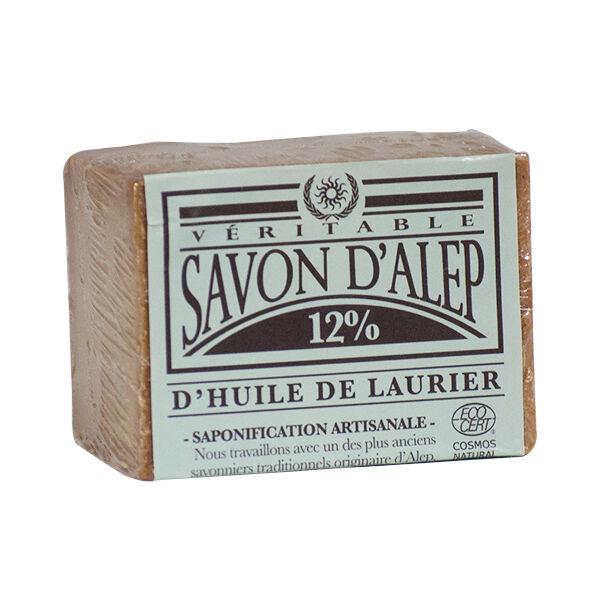 Dr Theiss Bio Savon d'Alep 12% Huile de Laurier 200g