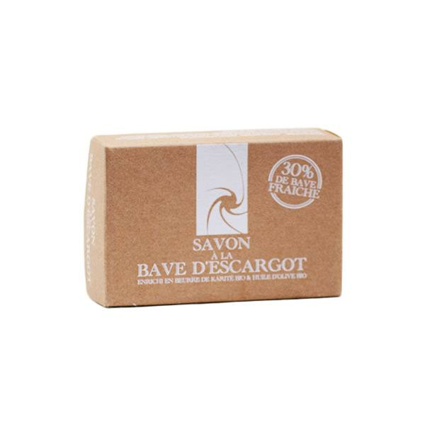 Savon à la Bave d'Escargot Beurre de Karité et Huile d'Olive Bio 125g