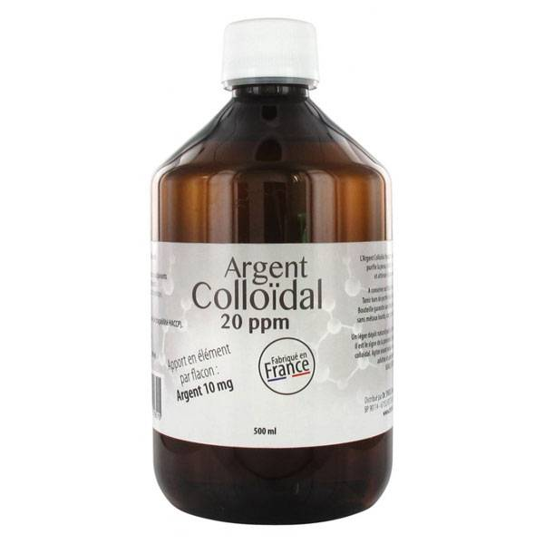 Dr Theiss Argent Colloïdal 20ppm 500ml