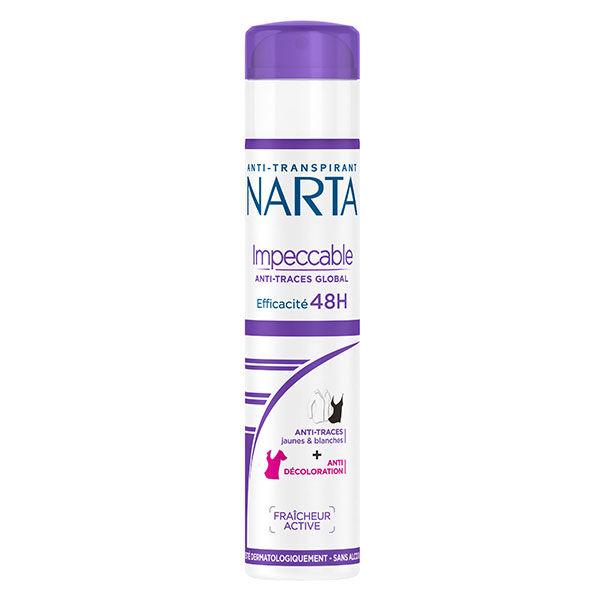 Narta Impeccable Déodorant Spray Femme Anti-Transpirant 48h 200ml