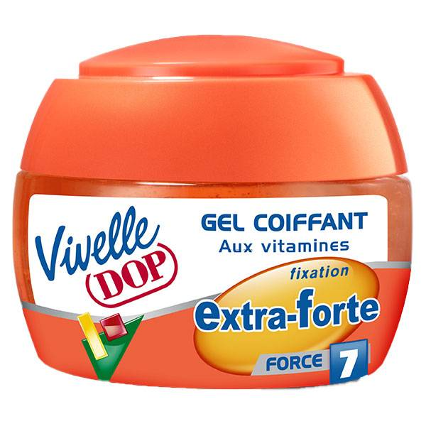 Dop Vivelle Dop Gel Coiffant aux Vitamines Fixation Extra-Forte Force 7 150ml