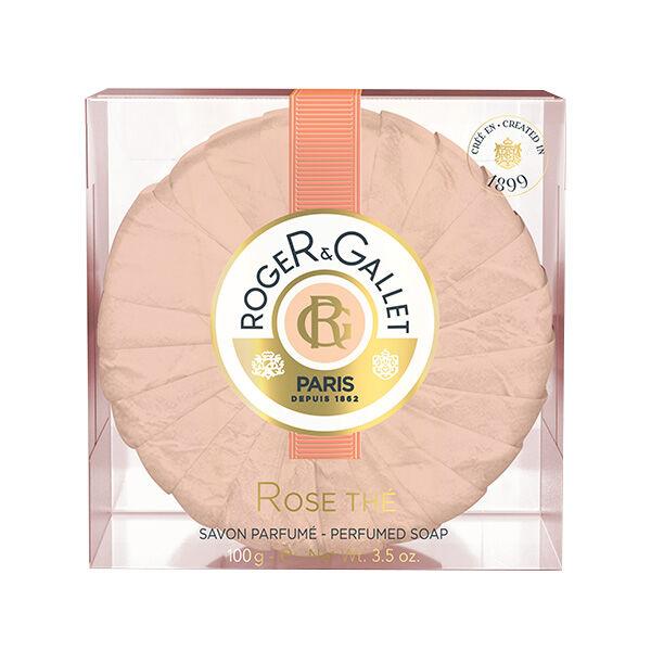 Roger & Gallet Rose Thé Savon Parfumés 100g