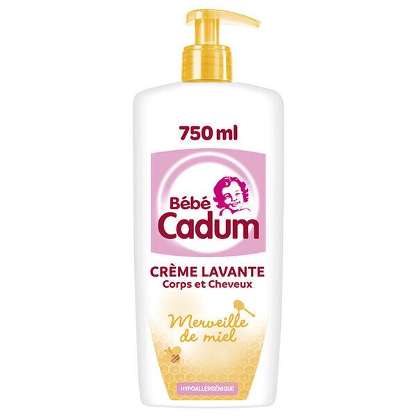 Cadum Bébé Merveille de Miel Crème Lavante Protectrice 750ml