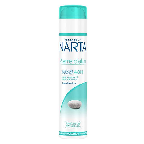 Narta Pierre d'Alun Déodorant Spray Femme 48h 200ml