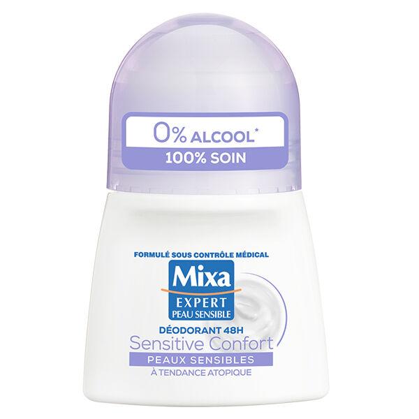 Mixa Déodorant 48h Sensitive Confort Peaux Sensibles à Tendance Atopique 50ml