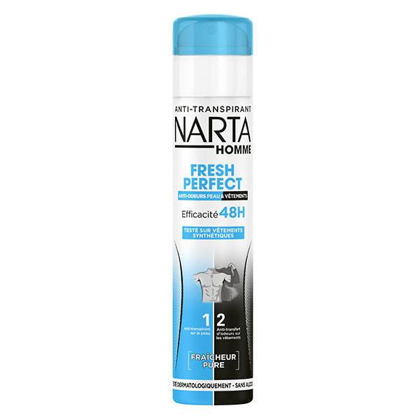 Narta Homme Homme Fresh Protect Déodorant Spray Anti-Transpirant 48h 200ml