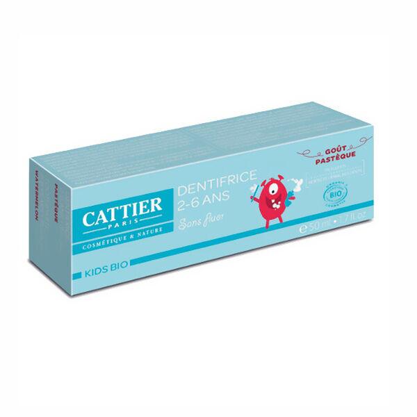 Cattier Dentifrice 2 - 6 ans Goût Pastèque 50ml
