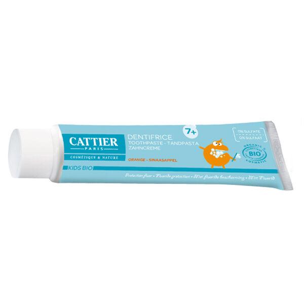 Cattier Dentifrice Kids Bio 7 Ans et + Goût Orange 50ml