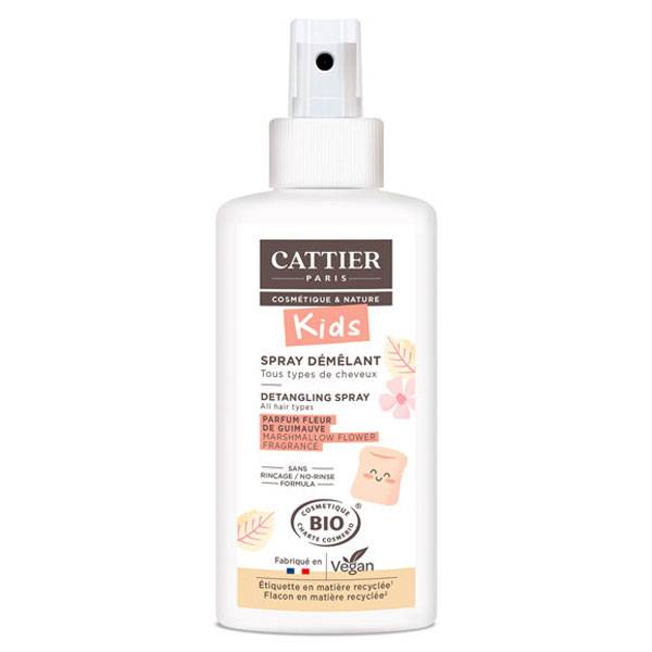 Cattier Kids Spray Démêlant Parfum Fleur de Guimauve Bio 200ml