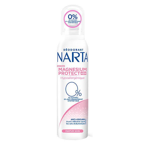Narta Magnesium Protect Déodorant Spray Femme Hypoallergénique 48h 150ml