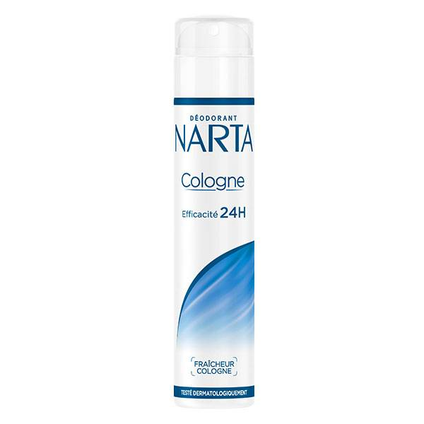 Narta Cologne Déodorant Spray Femme 24h 200ml