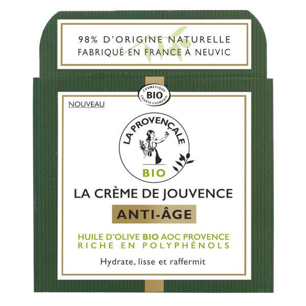 La Provençale La Crème de Jouvence Anti-Age Bio 50ml