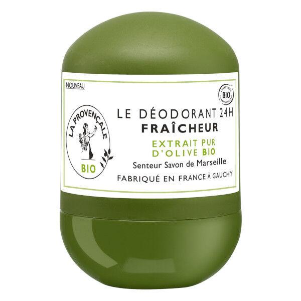 La Provençale Le déodorant Fraîcheur Senteur Savon de Marseille Bio 50ml