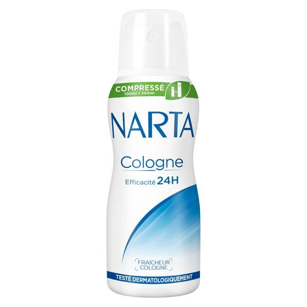 Narta Cologne Déodorant Spray Femme 48h 100ml