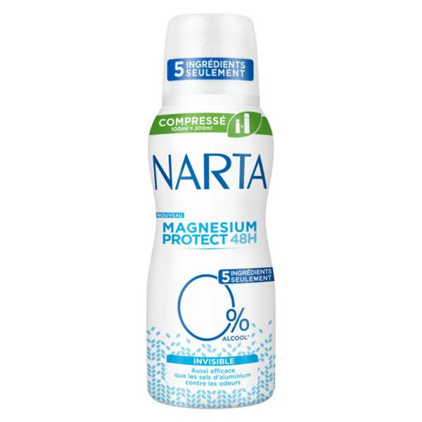 Narta Magnésium Protect Déodorant Invisible Spray 100ml