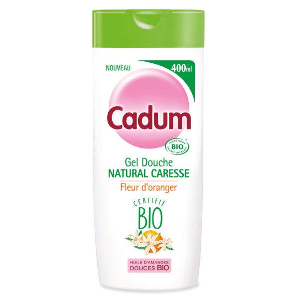 Cadum Douche Natural Caresse Fleur d'Oranger Bio 400ml