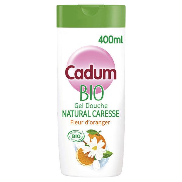 Cadum Bio Douche Natural Caresse Fleur d'Oranger 400ml