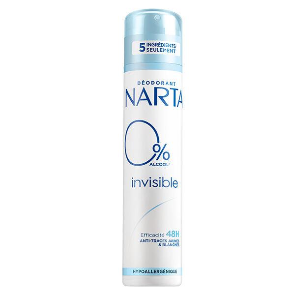Narta Invisible 0% Déodorant Spray 48h 200ml