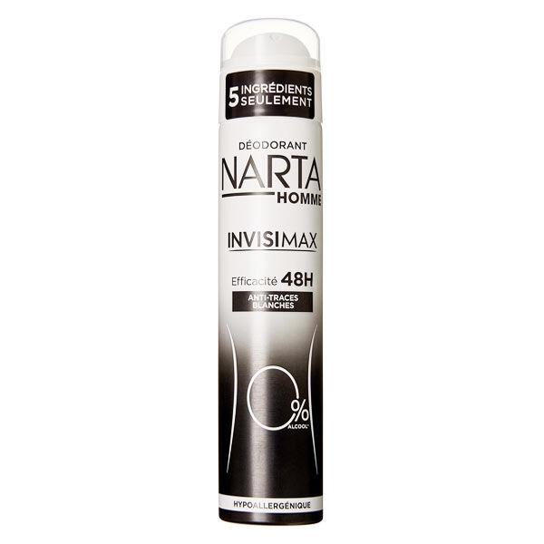 Narta Homme Invisimax 0% Déodorant 48h Spray 200ml