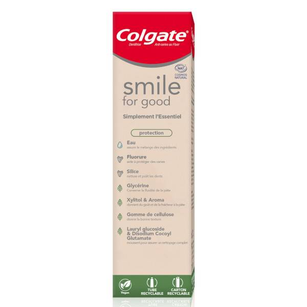 Colgate Smile for Good Dentifrice Bio & Végan 75ml