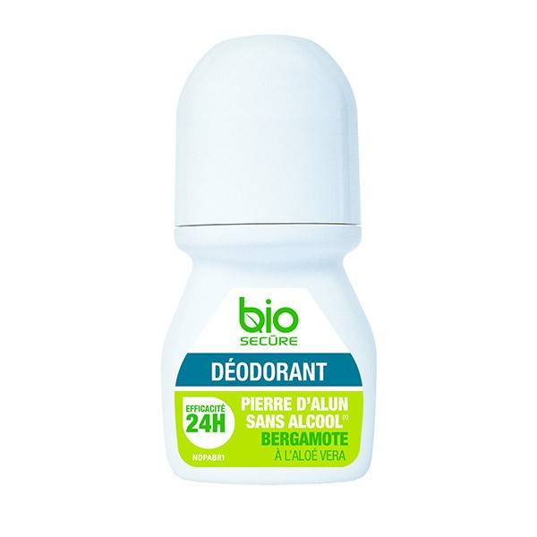 Bio Secure Déodorant Pierre d'Alun Bergamote 50ml