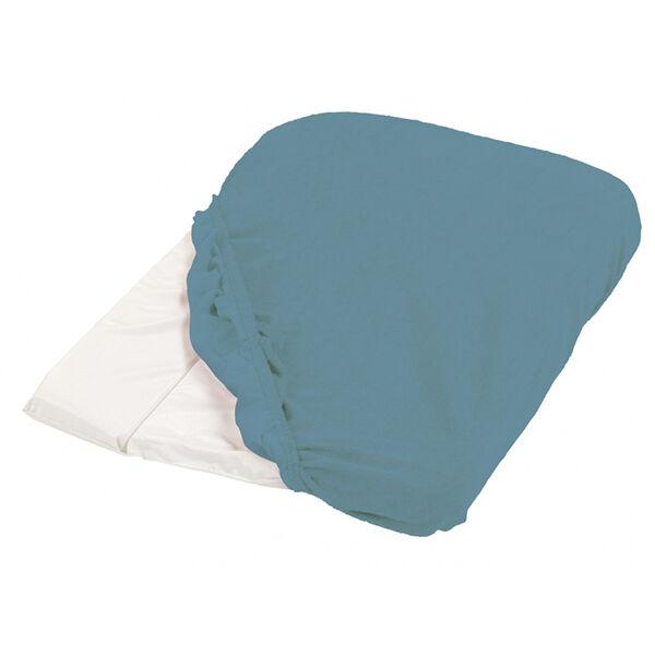 Candide Housse de Matelas à Langer Eponge 50 x 75 cm Bleu Canard