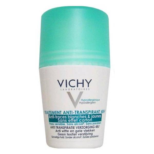 Vichy Déodorant Traitement Anti-Traces 48H Roll-On 50ml