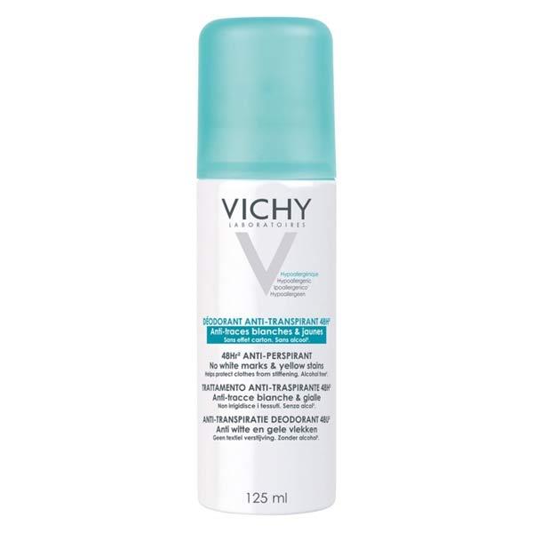 Vichy Déodorant Anti-Traces Blanches & Jaunes 48h Spray 125ml