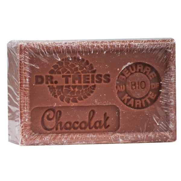 Dr Theiss Savon de Marseille-au Chocolat + Beurre de Karité Bio 125g