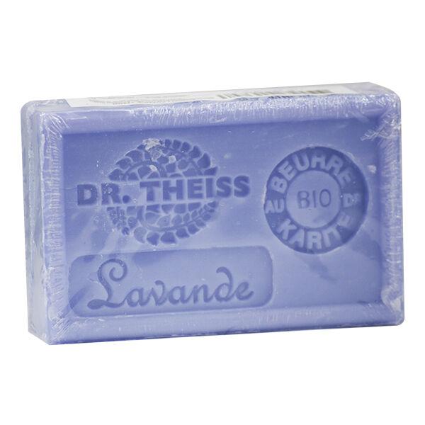 Dr Theiss Savon de Marseille-Lavande + Beurre de Karité Bio 125g