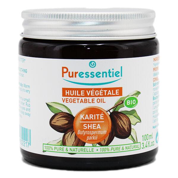 Puressentiel Huile Végétale Beurre de Karité Bio 100ml