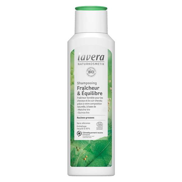 Lavera Hair Care Shampooing Fraîcheur & Anti Cheveux Gras 250ml
