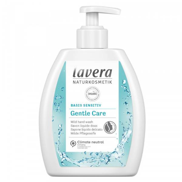 Lavera Basis Sensitiv Gentle Care Savon Liquide Doux Bio 250ml