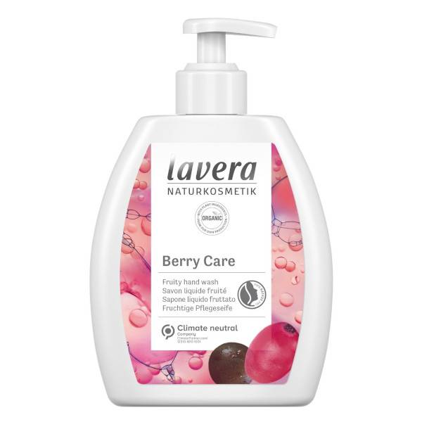 Lavera Berry Care Savon Liquide Fruité Bio 250ml